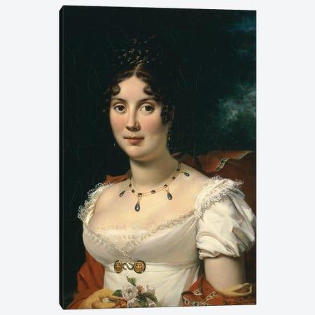 Portrait of a Lady  Canvas Print #BMN5276} by Francois Pascal Simon Gerard Canvas Art Print