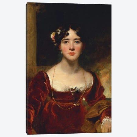 Portrait of Mrs. John Allnutt, c.1810-15  Canvas Print #BMN5279} by Sir Thomas Lawrence Canvas Art