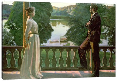 Nordic Summer Evening, 1899-1900 Canvas Art Print