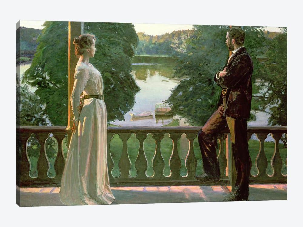 Nordic Summer Evening, 1899-1900 by Sven Richard Bergh 1-piece Canvas Art