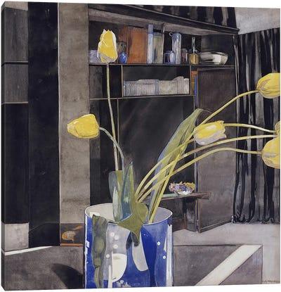 Yellow Tulips, c.1922-23  Canvas Print #BMN5303