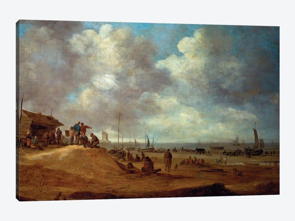 A View of Scheveningen, 1649  by Jan Josephsz. van Goyen 1-piece Canvas Art