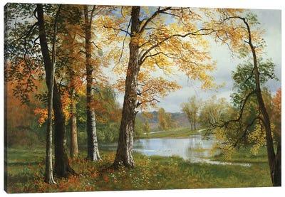 A Quiet Lake  Canvas Art Print