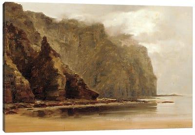 The Minaum Cliffs, Achill Island, County Connaught, Ireland  Canvas Art Print