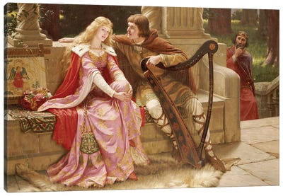 The End of the Song, 1902  Canvas Art Print