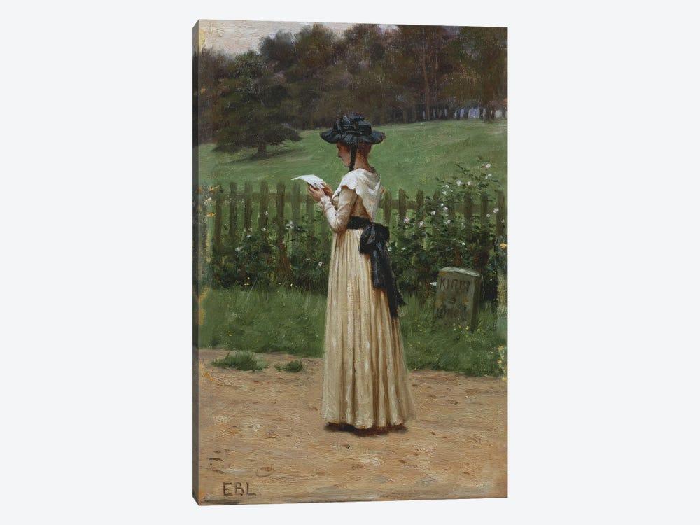 The Love Letter  by Edmund Blair Leighton 1-piece Canvas Art Print