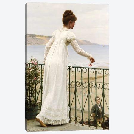 A Favour, 1898  Canvas Print #BMN5323} by Edmund Blair Leighton Canvas Art