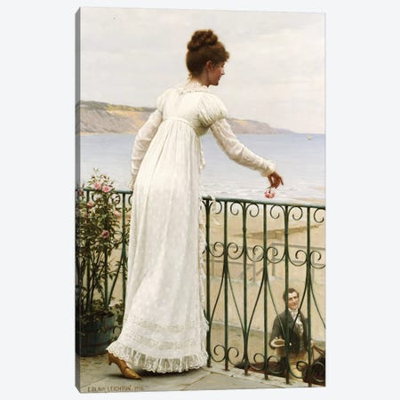 A Favour, 1898  Canvas Print #BMN5323} by Edmund Blair Leighton Canvas Art