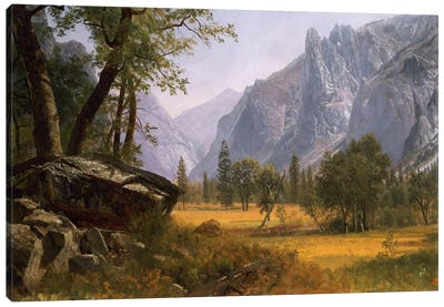 Yosemite Valley by Albert Bierstadt Art Print