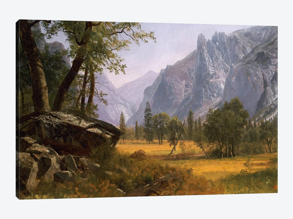Yosemite Valley by Albert Bierstadt 1-piece Art Print