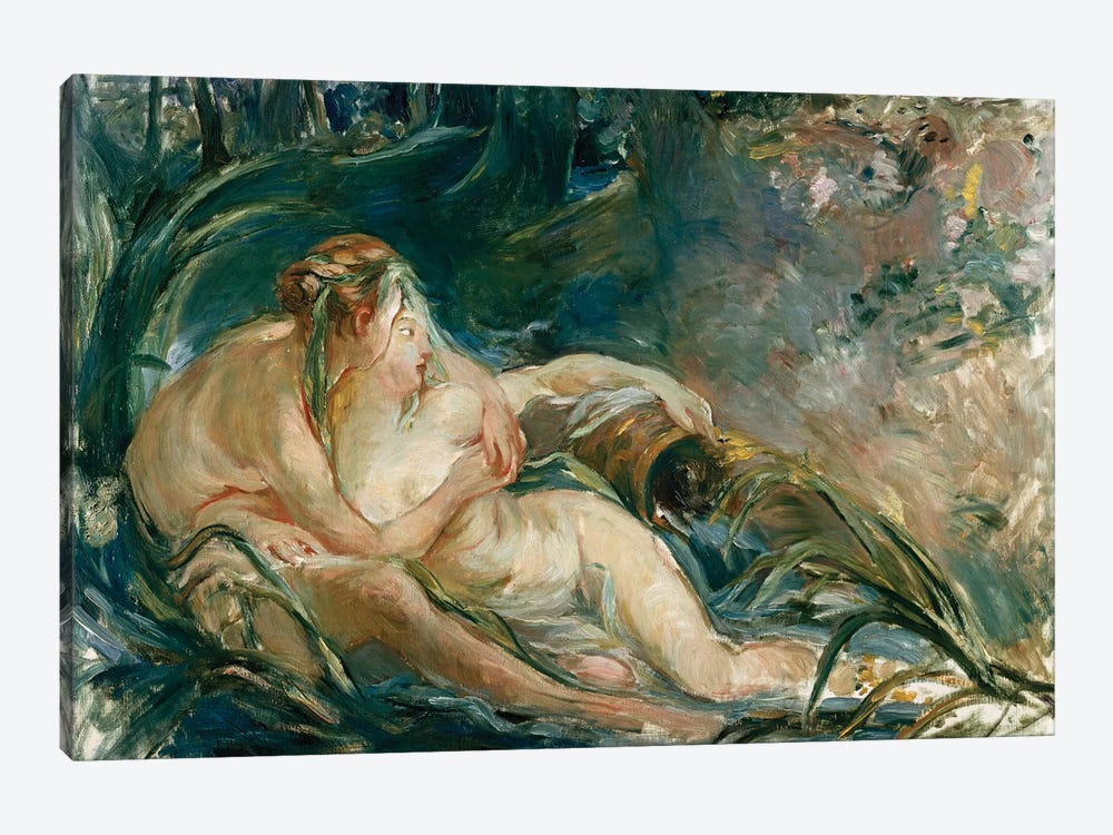 Apollo Appearing To Latone (After Boucher) by Berthe Morisot 1-piece Canvas Wall Art