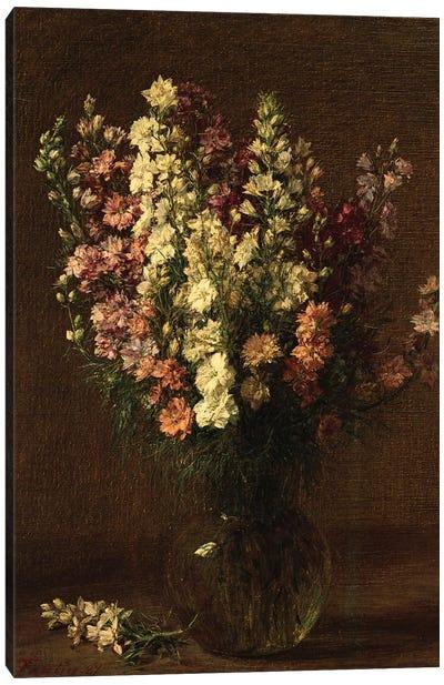 Larkspur, 1887  Canvas Art Print