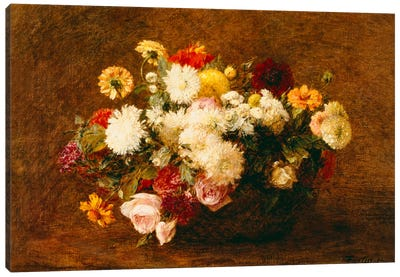 Bouquet of Flowers, 1894 Canvas Art Print