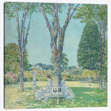 The Audition, East Hampton, 1924  Canvas Print #BMN5373} by Childe Hassam Canvas Art Print