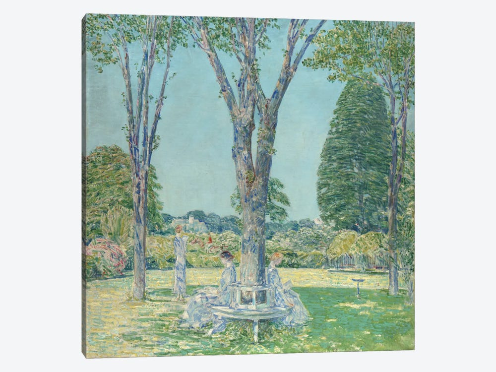 The Audition, East Hampton, 1924  by Childe Hassam 1-piece Canvas Art Print