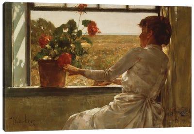 Summer Evening, 1886  Canvas Art Print
