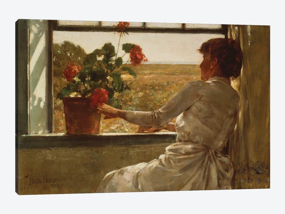 Summer Evening, 1886  by Childe Hassam 1-piece Canvas Wall Art