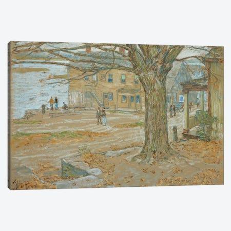 November, Cos Cob, 1902  Canvas Print #BMN5377} by Childe Hassam Canvas Artwork