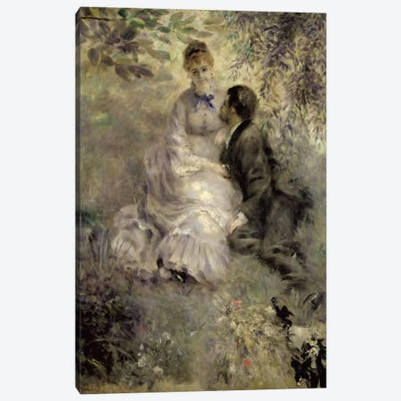 The Lovers, c.1875  Canvas Print #BMN538} by Pierre-Auguste Renoir Canvas Art