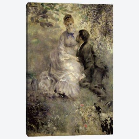 The Lovers, c.1875  Canvas Print #BMN538} by Pierre-Auguste Renoir Canvas Art