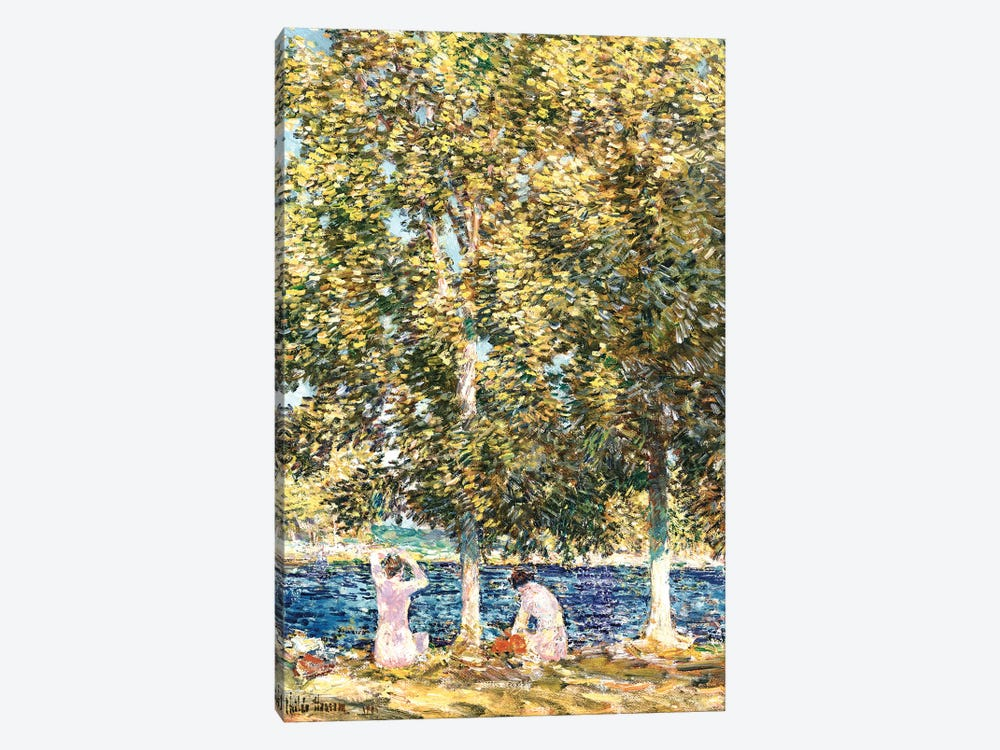 The Bathers, 1905  by Childe Hassam 1-piece Canvas Wall Art