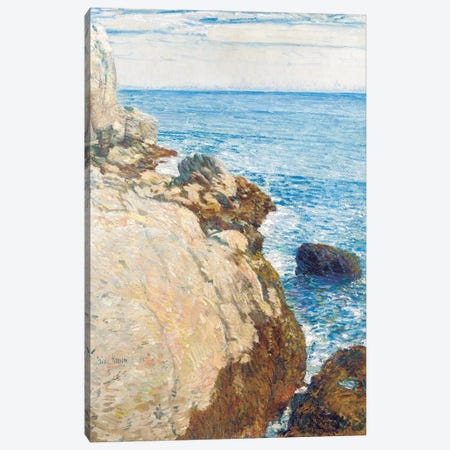The East Headland, Appledore - Isles of Shoals, 1908  Canvas Print #BMN5394} by Childe Hassam Canvas Artwork