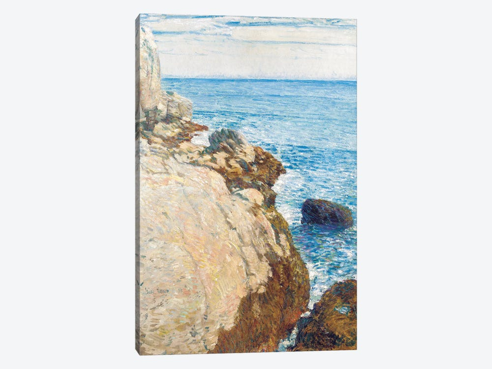 The East Headland, Appledore - Isles of Shoals, 1908  by Childe Hassam 1-piece Canvas Artwork
