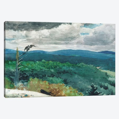 Hilly Landscape, 1894  Canvas Print #BMN5396} by Winslow Homer Canvas Art