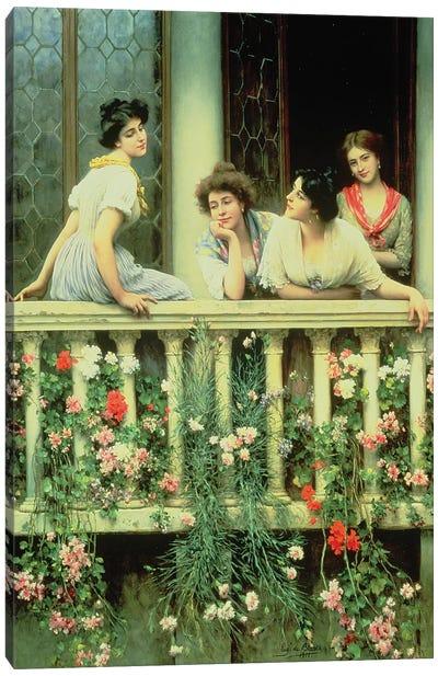 The Balcony, 1911  Canvas Art Print