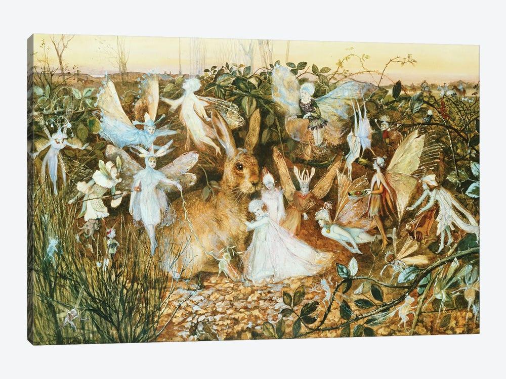 Fairy Twilight  by John Anster Fitzgerald 1-piece Canvas Wall Art