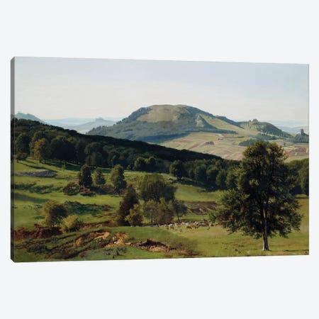 Landscape - Hill and Dale  Canvas Print #BMN5429} by Albert Bierstadt Art Print