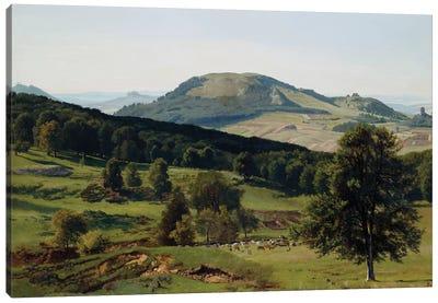 Landscape - Hill and Dale  Canvas Art Print