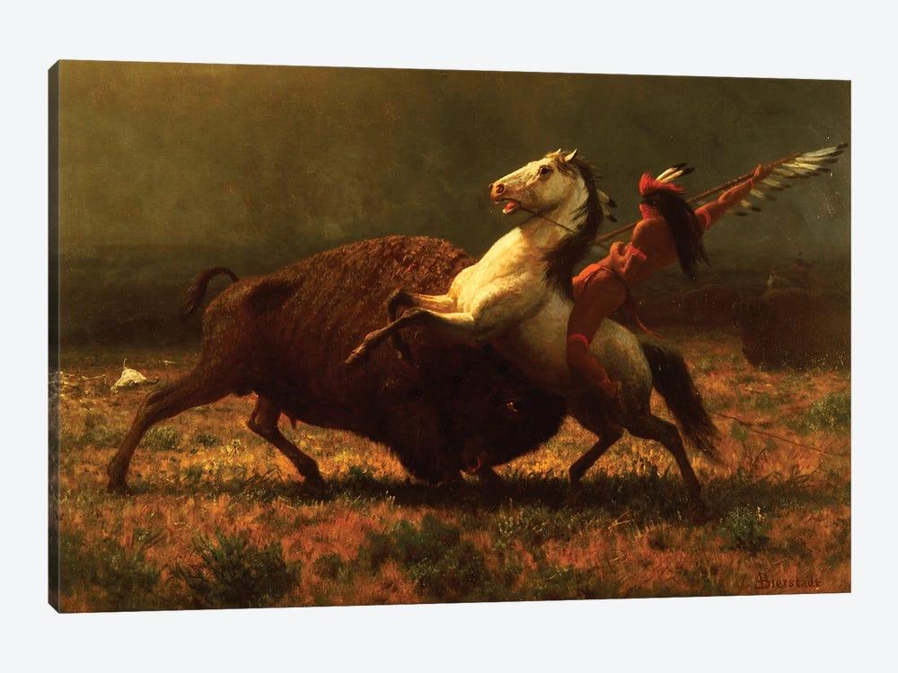 The Last of the Buffalo, c.1888  by Albert Bierstadt 1-piece Canvas Art