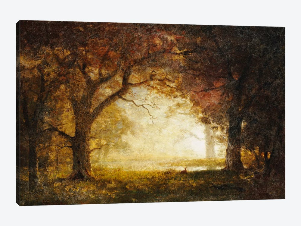 Forest Sunrise  by Albert Bierstadt 1-piece Art Print