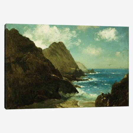 Farallon Islands  Canvas Print #BMN5440} by Albert Bierstadt Canvas Art Print