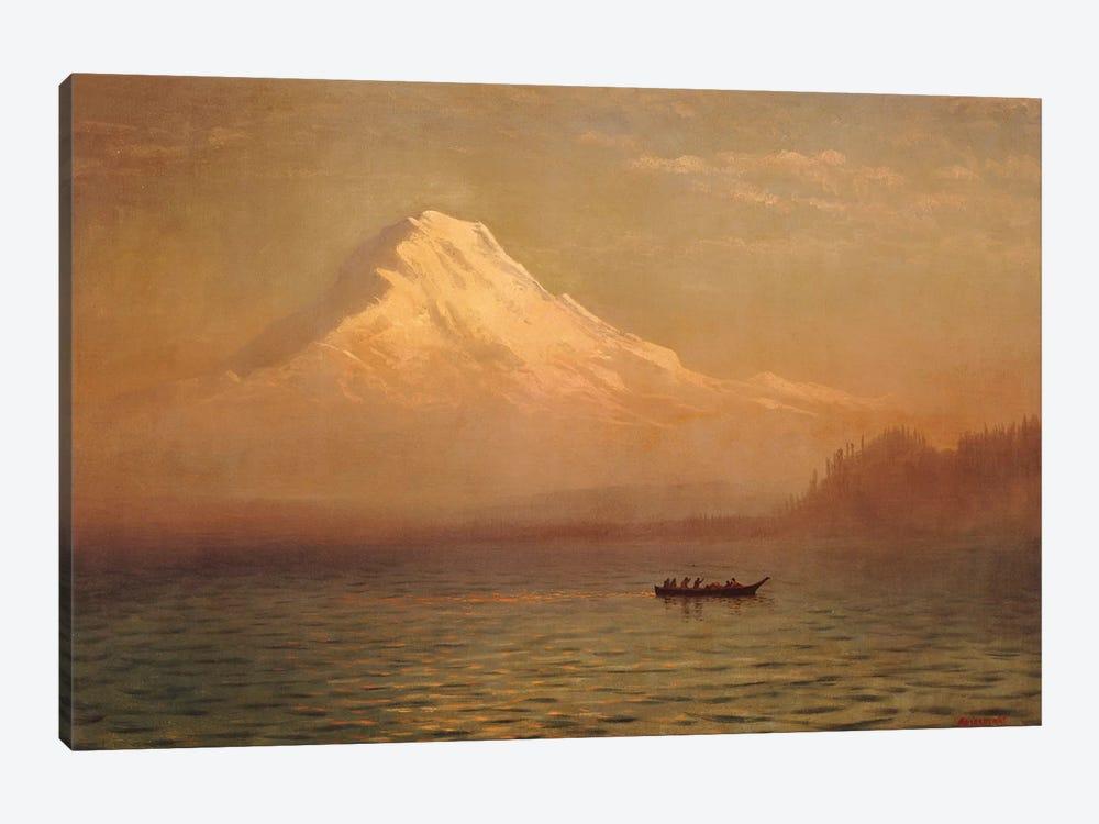 Sunrise on Mount Tacoma  by Albert Bierstadt 1-piece Canvas Art Print