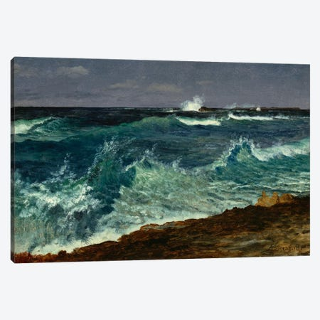 Seascape  Canvas Print #BMN5442} by Albert Bierstadt Canvas Print