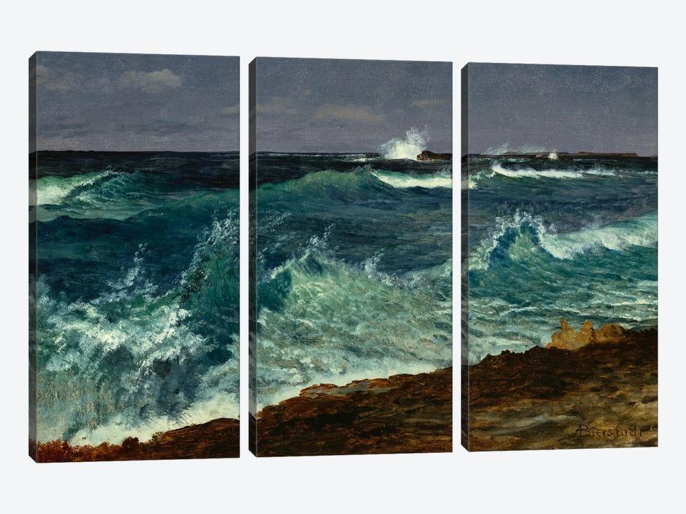 Seascape  by Albert Bierstadt 3-piece Canvas Artwork