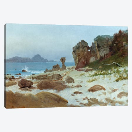 Bay of Monterey  Canvas Print #BMN5443} by Albert Bierstadt Art Print