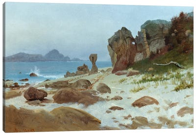 Bay of Monterey by Albert Bierstadt Art Print