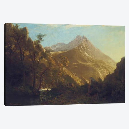 Wasatch Mountains  Canvas Print #BMN5450} by Albert Bierstadt Canvas Art