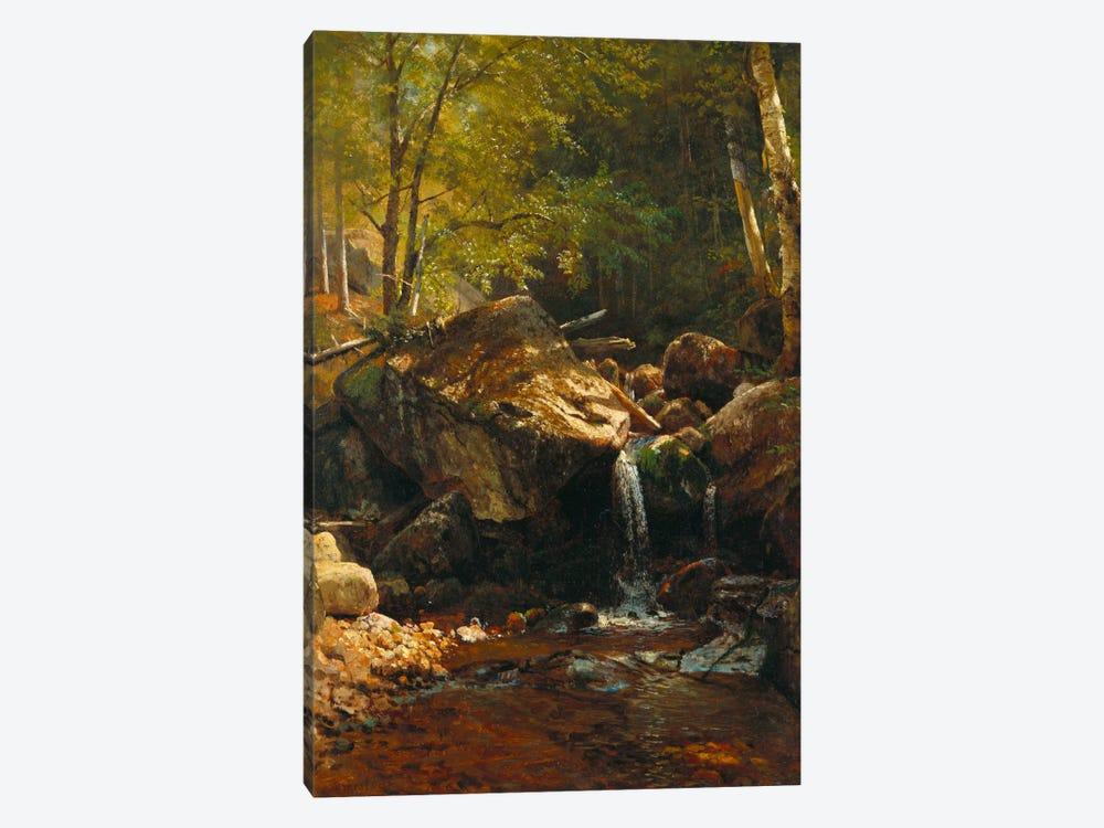 Thompson Cascade, White Mountains  by Albert Bierstadt 1-piece Canvas Art