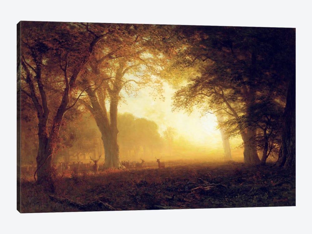 Golden Light of California  by Albert Bierstadt 1-piece Art Print