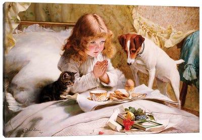 Suspense, 1894  Canvas Art Print