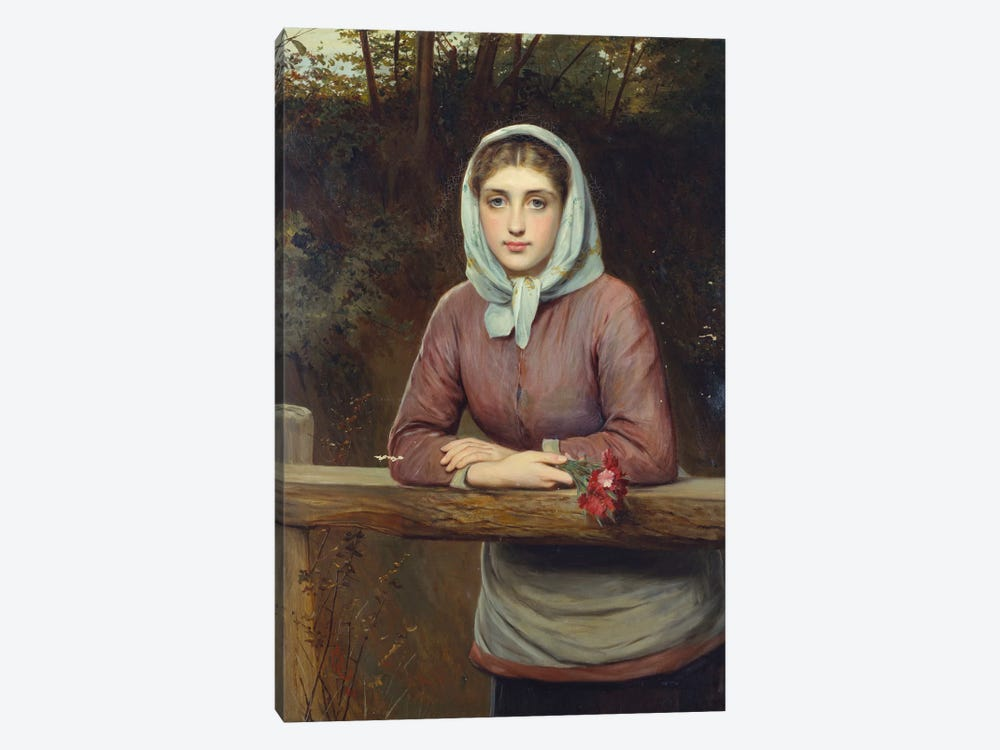 The Rendez-Vous, 1881  by Charles Sillem Lidderdale 1-piece Canvas Artwork