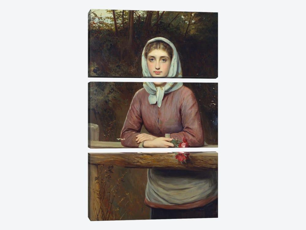 The Rendez-Vous, 1881  by Charles Sillem Lidderdale 3-piece Canvas Artwork