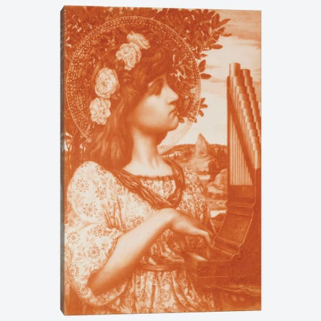 Saint Cecilia  Canvas Print #BMN5462} by Henry Ryland Art Print