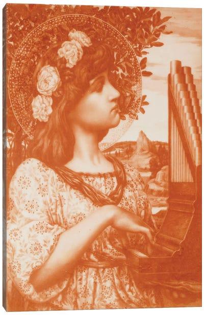 Saint Cecilia  Canvas Art Print