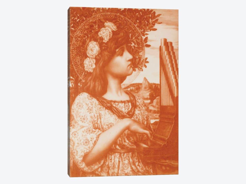 Saint Cecilia  by Henry Ryland 1-piece Canvas Art