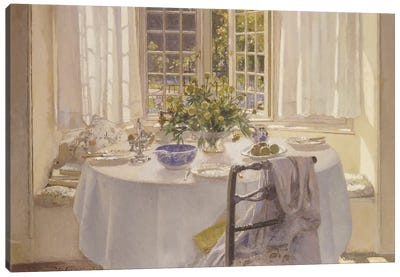 The Morning Room, 1916  Canvas Art Print